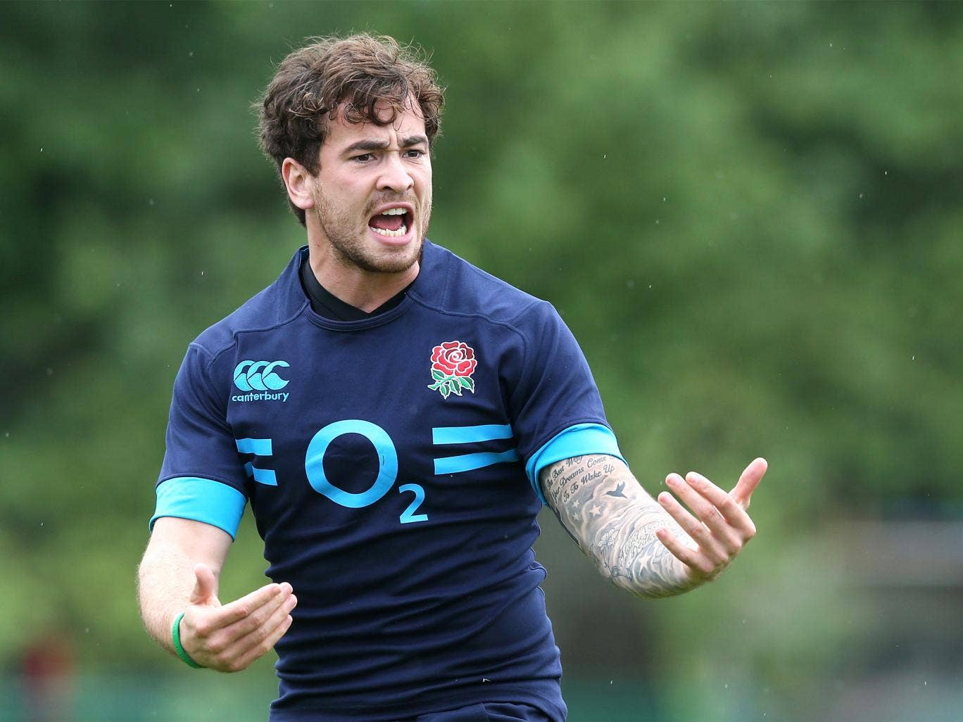 The Sale fly-half has been quick to make an impression on England coach Stuart Lancaster in training