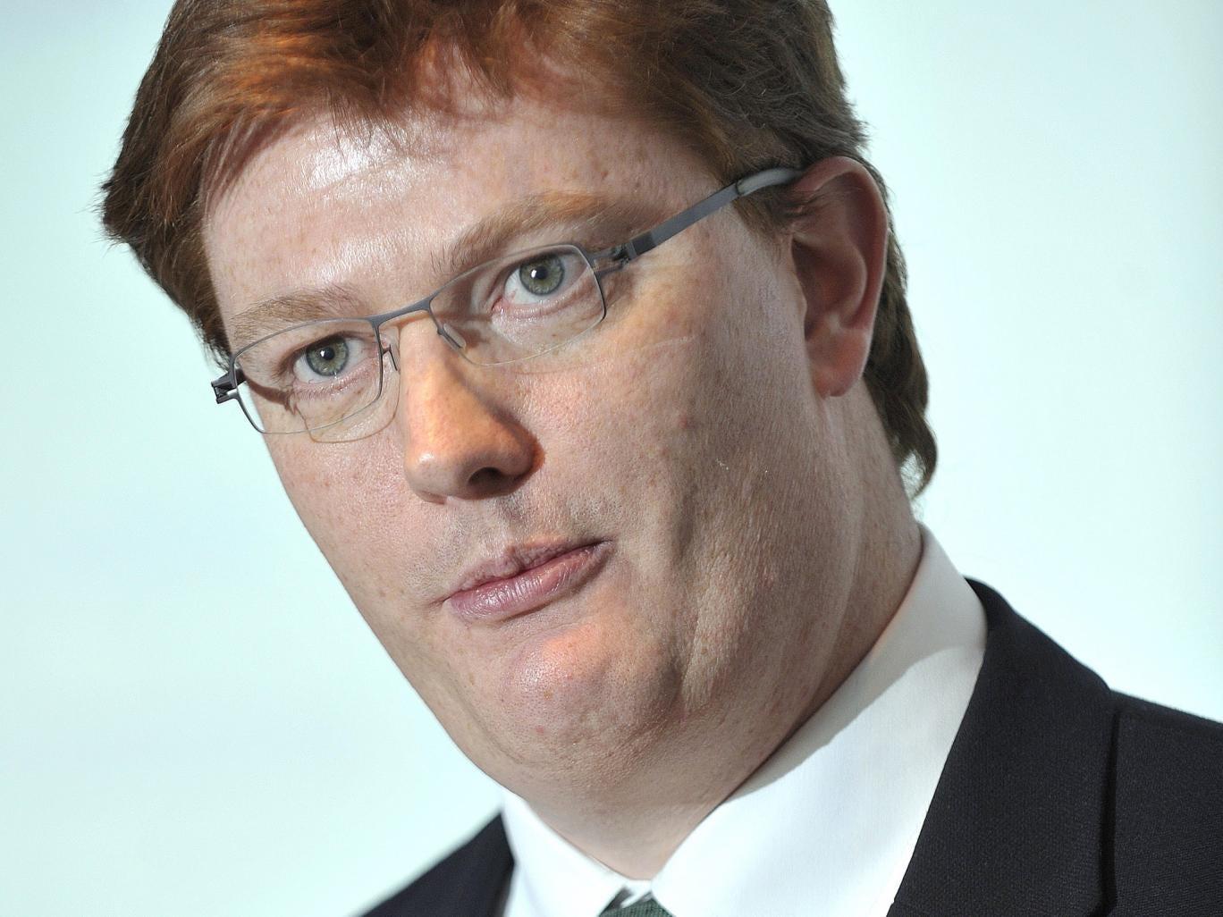 Chief Secretary to the Treasury, Danny Alexander