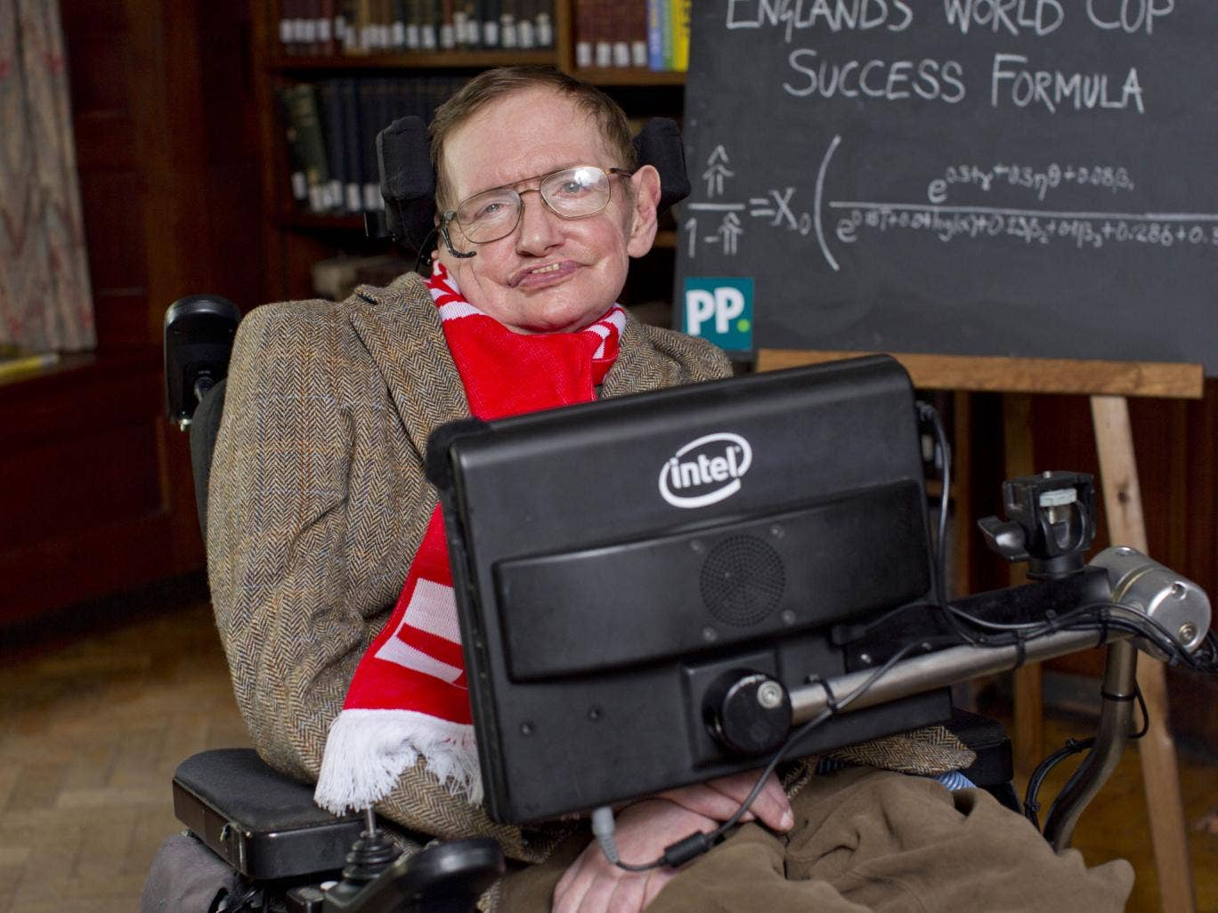 Professor Stepehen Hawking has analysed data from every World Cup since 1966