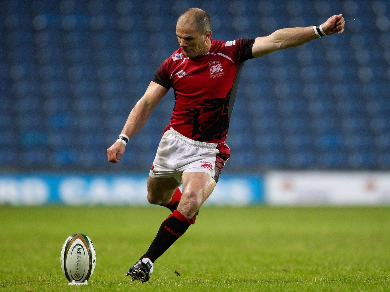 Gordon Ross converted all three tries and kicked two penalties for London Welsh