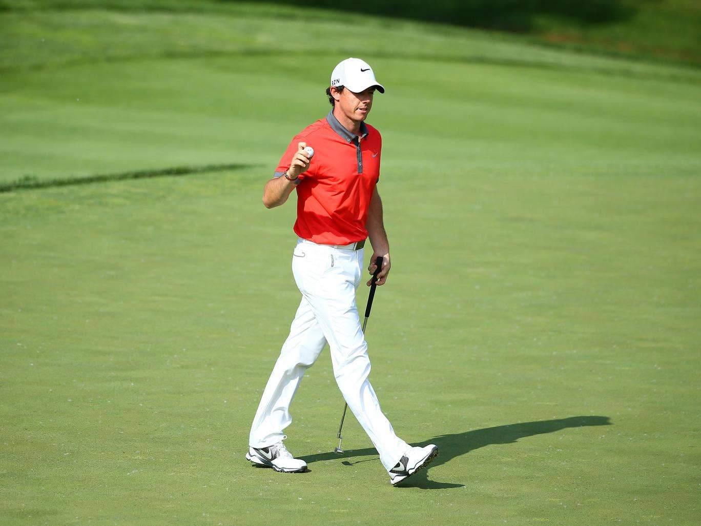 Rory McIlroy leads the field after the opening round of the Jack Nicklaus Memorial Tournament in Ohio