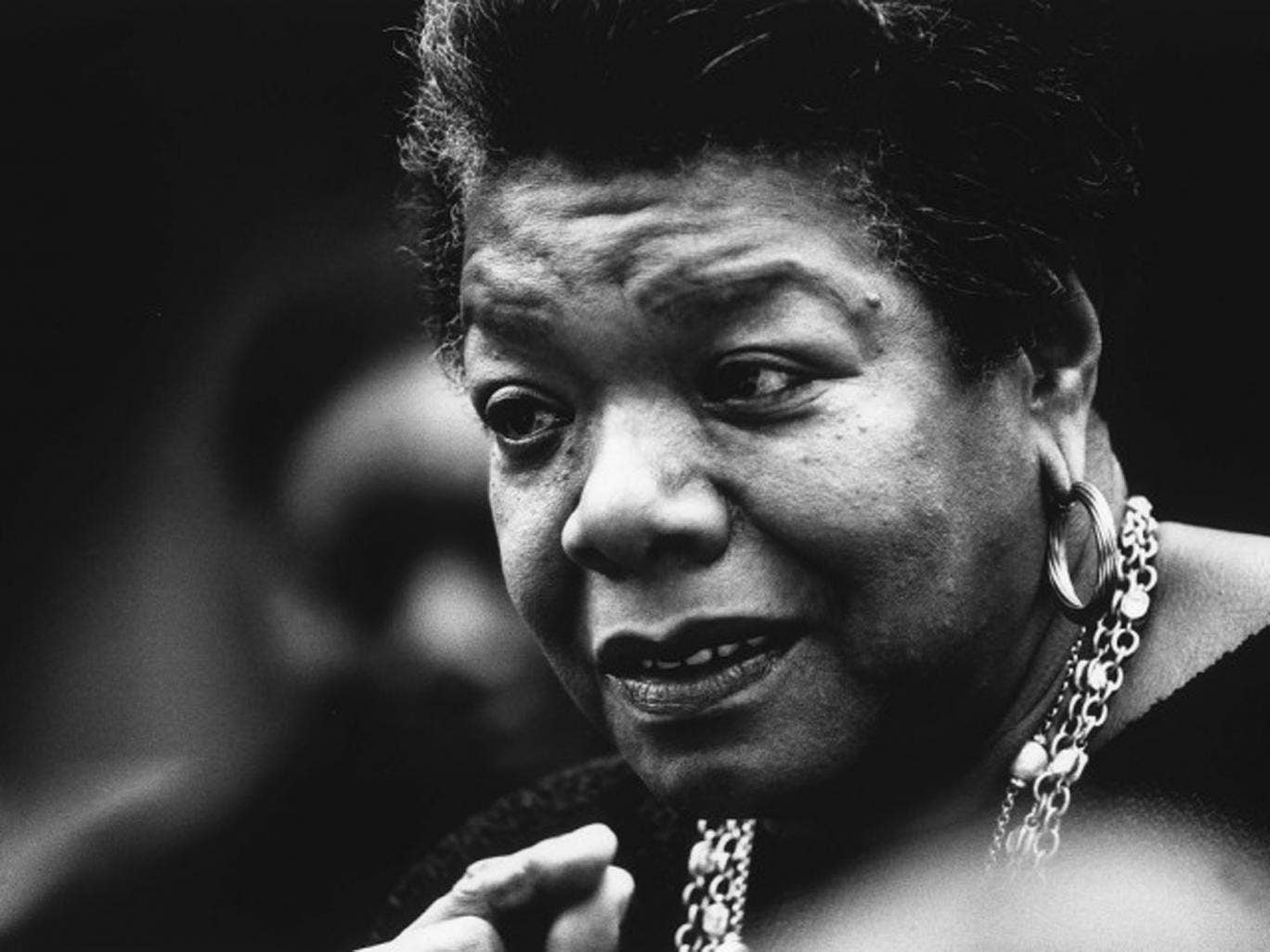 Speaking out: Maya Angelou, who died last week, was an exception to the norm for the descendants of slaves