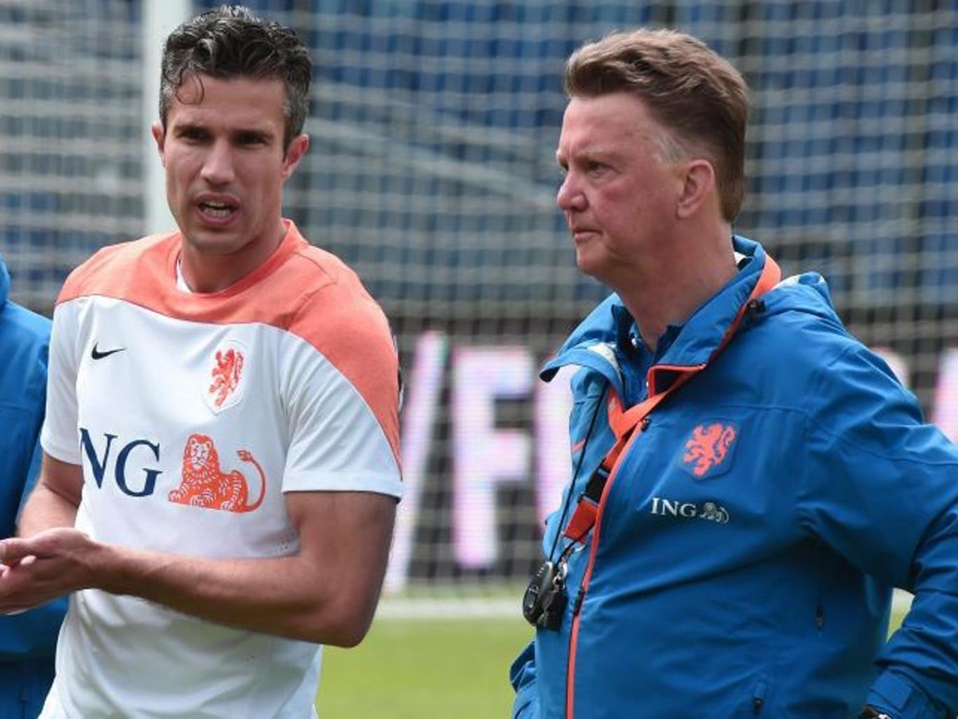 United we stand: Robin van Persie is Louis van Gaal's captain