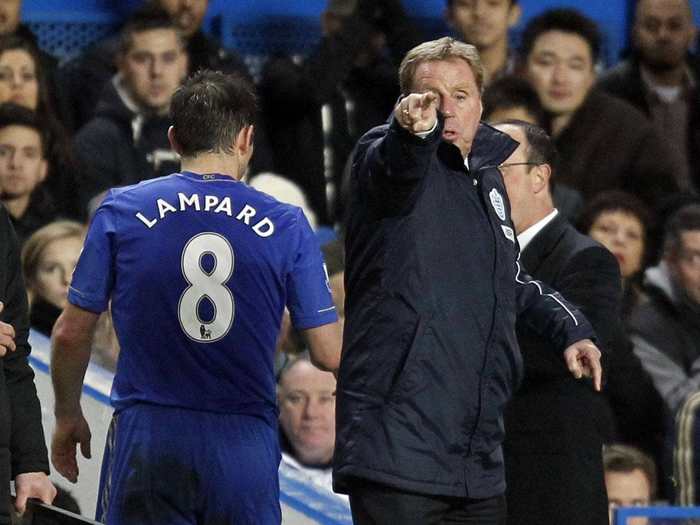 Harry Redknapp claims he would not be letting Frank Lampard leave Chelsea