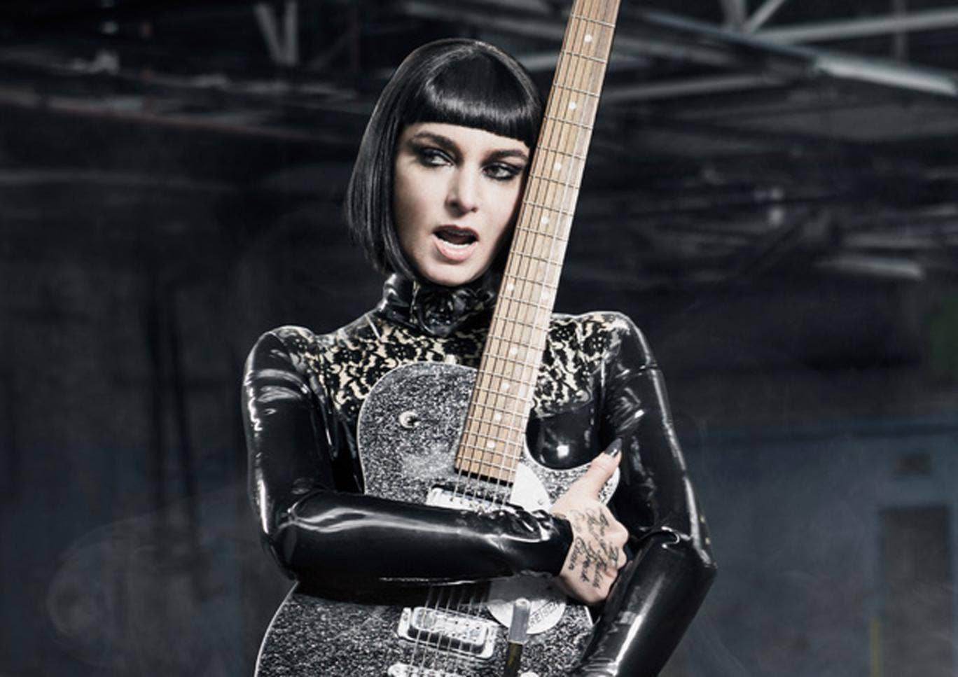 Sinead O'Connor on the cover of her new album I'm Not Bossy, I'm the Boss
