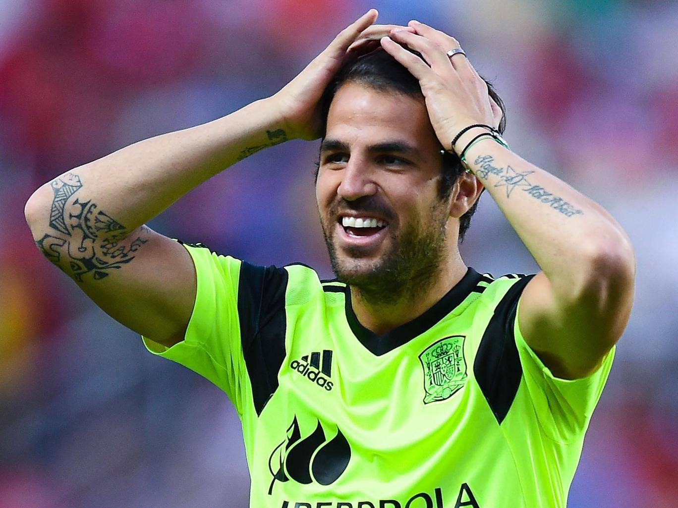 Cesc Fabregas could leave Barcelona for £30m