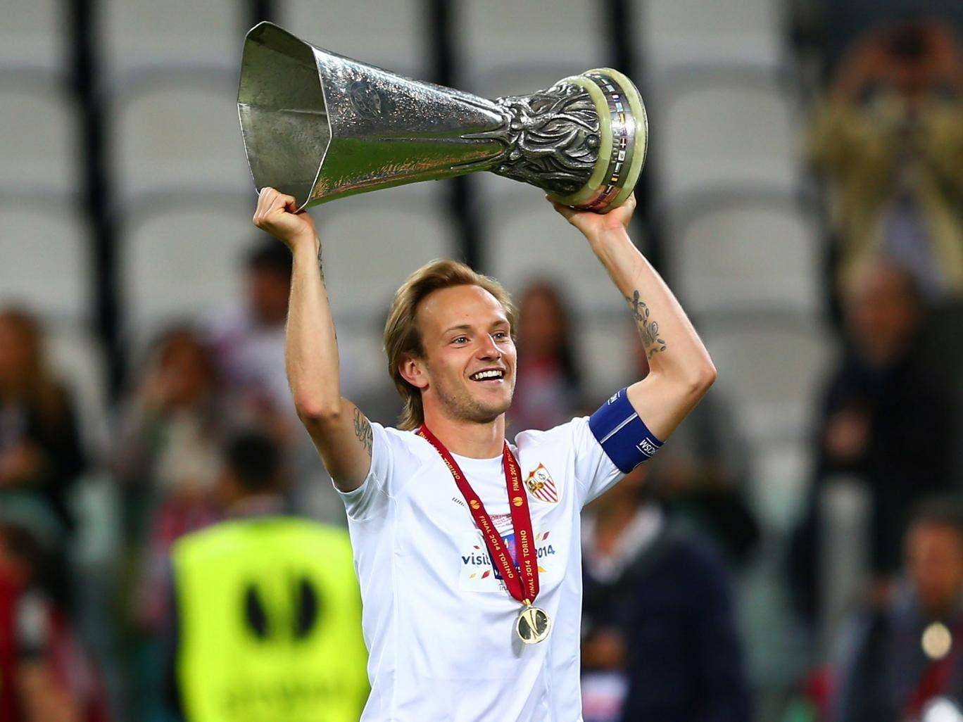 Ivan Rakitic has attracted attention from Real Madrid, Barcelona and Atletico Madrid