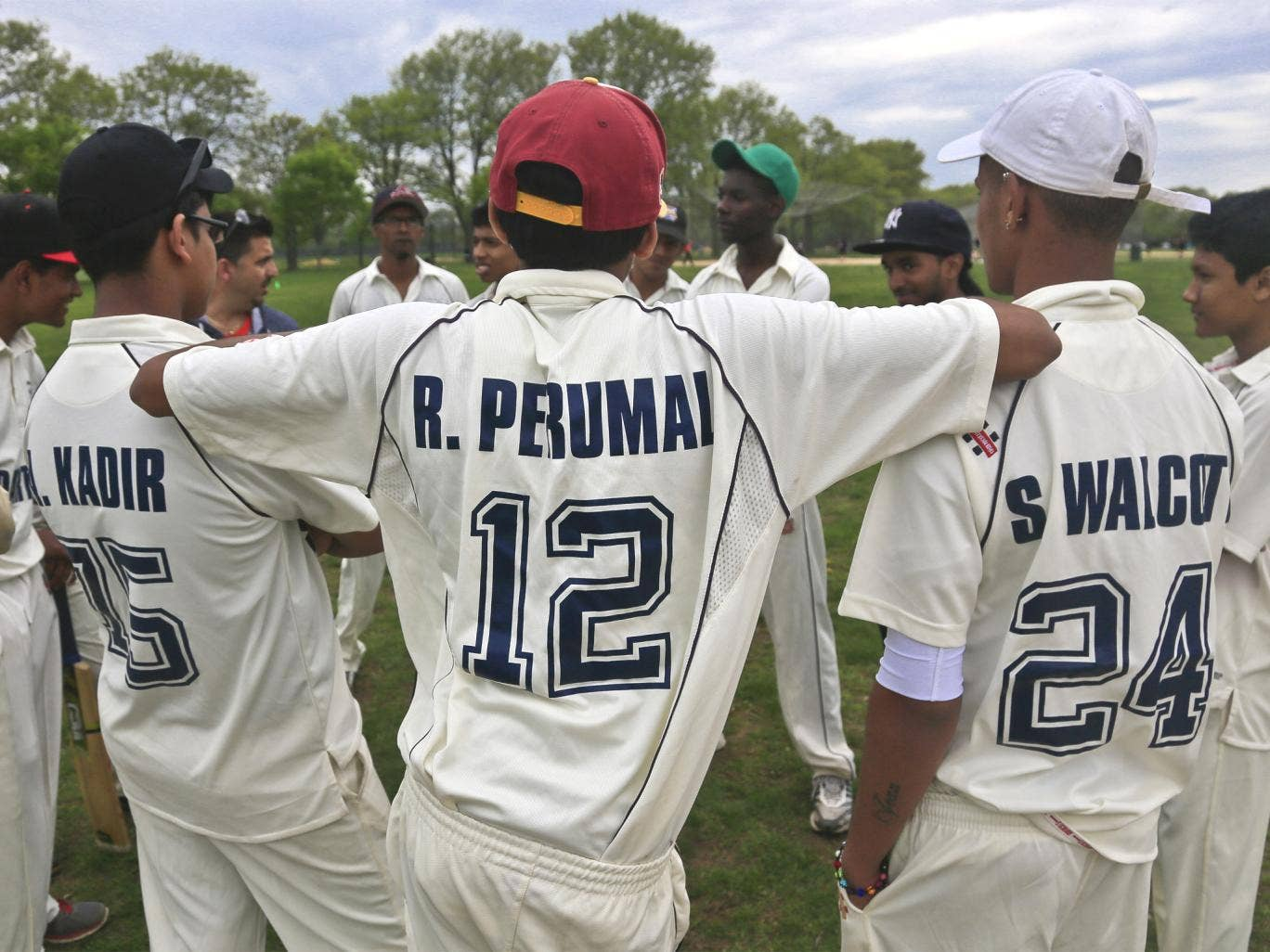 There are now some 30,000 cricketers in the US, as shown here in Brooklyn, New York