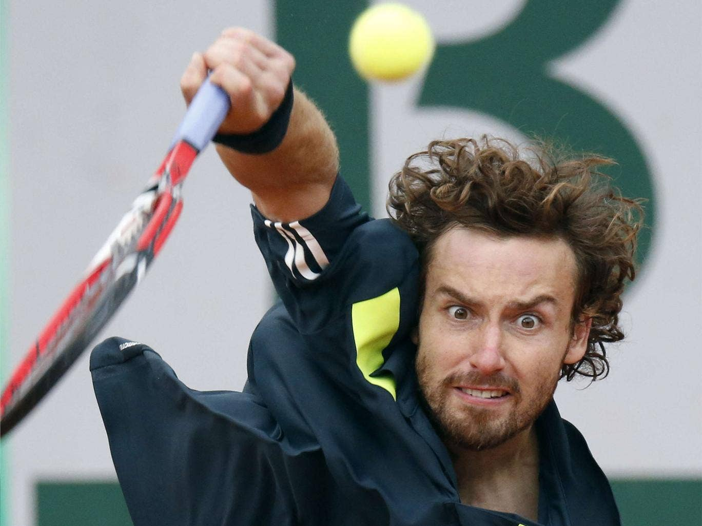 Ernests Gulbis followed his victory over Roger Federer by beating Tomas Berdych