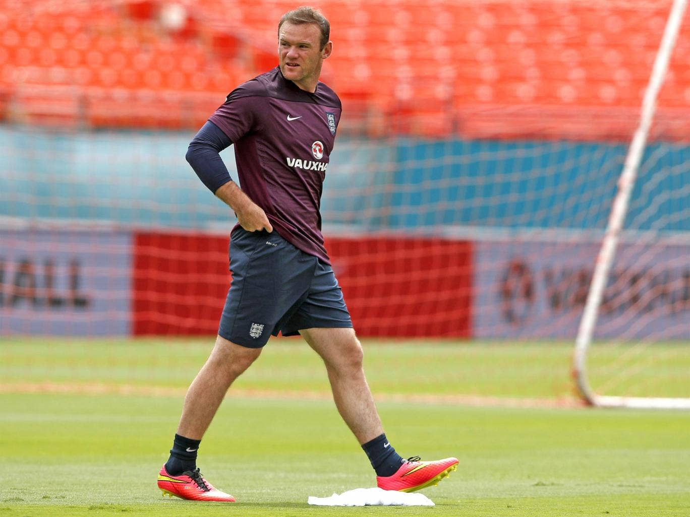 Wayne Rooney made his England debut over 11 years ago and is used to being the side's focal point