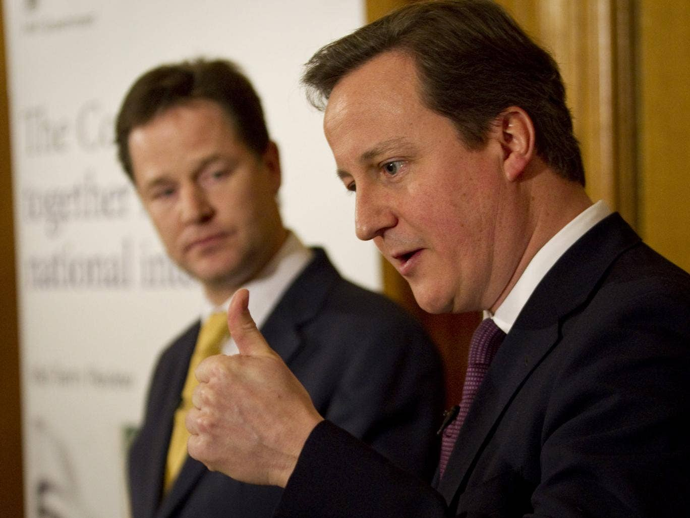 The joint Cameron-Clegg statement will worry some MPs in both coalition parties