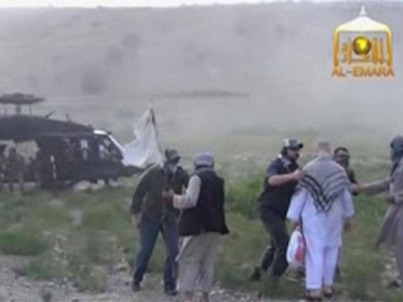 The Taliban has released a video showing the handover of Sergeant Bowe Bergdahl to US Special Forces in eastern Afghanistan, in a smooth exchange that took place in just ten careful seconds