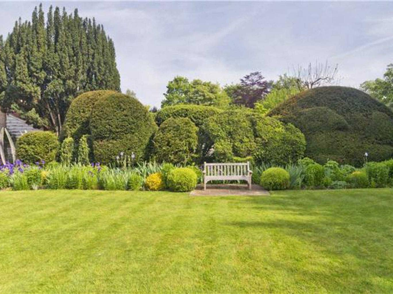 The garden at Kings Mill House, Great Shelford, which inspired 'Tom's Midnight Garden'