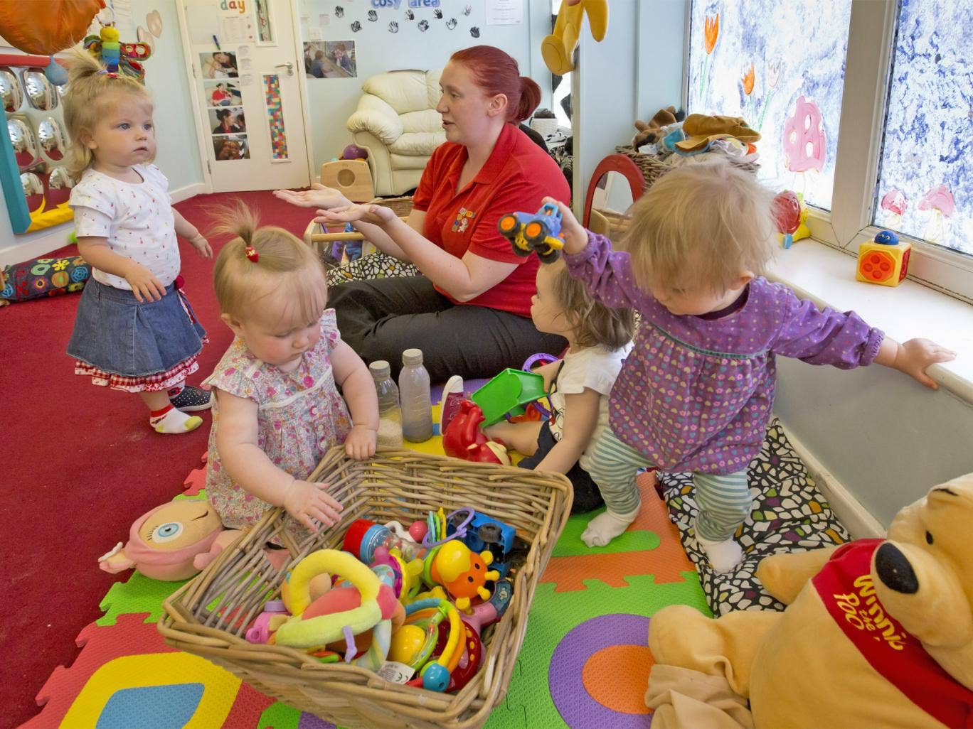 Starting them young: the Baby Bede nursery