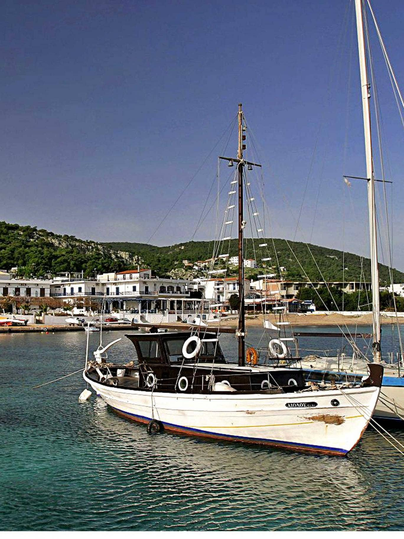 Float your boat: Agistri in Greece