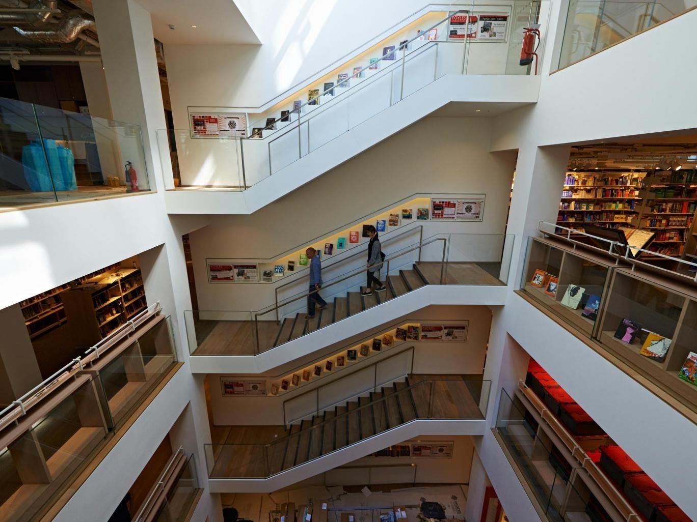 The new flagship Foyles bookshop