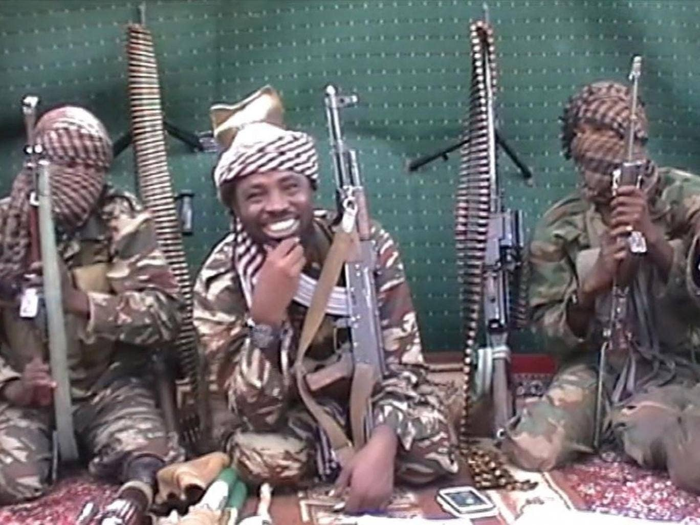 A video released by Boko Haram last year shows a man purporting to be Abubakar Shekau, the group's leader, taunting world leaders