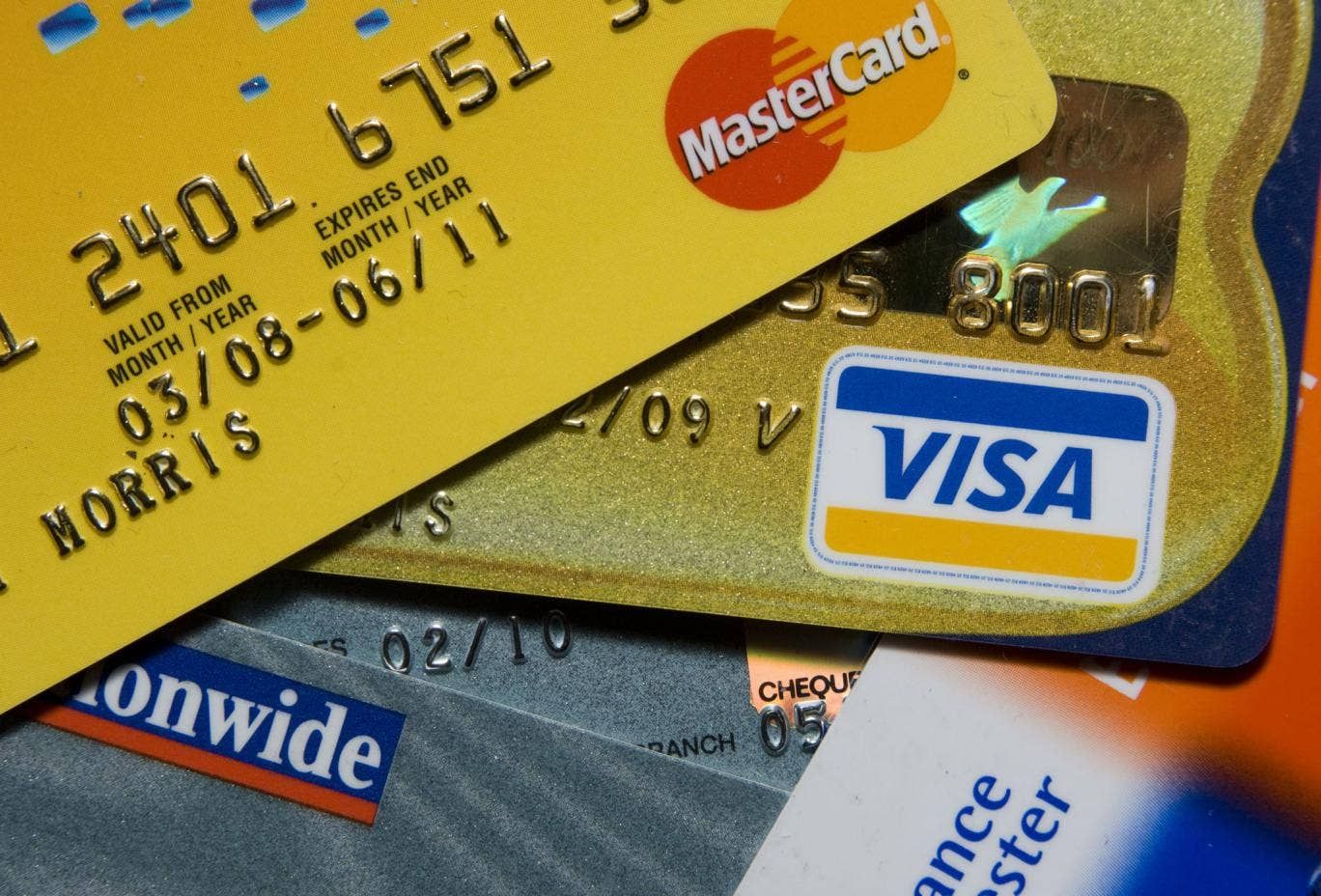 Card spending has more than doubled over the last decade