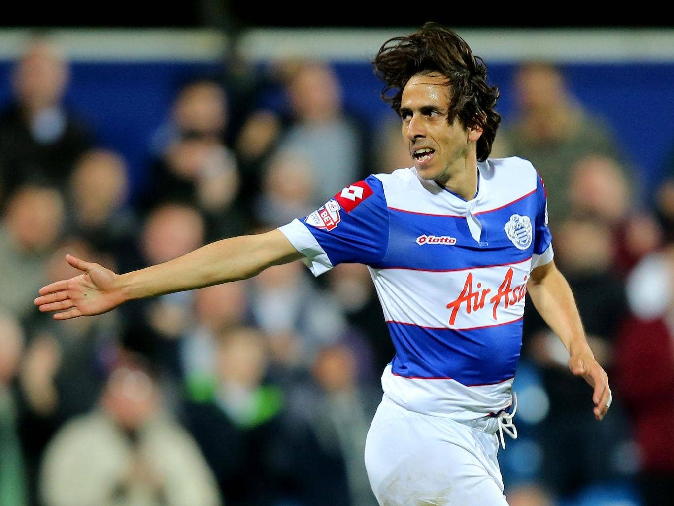 Yossi Benayoun in action for QPR