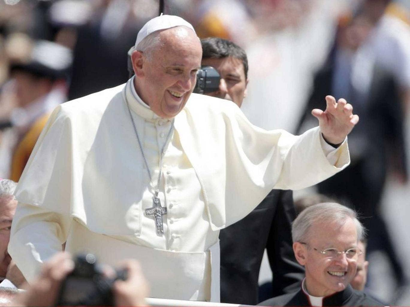 Pope Francis has dismissed the five Italians who oversaw the Vatican's financial watchdog