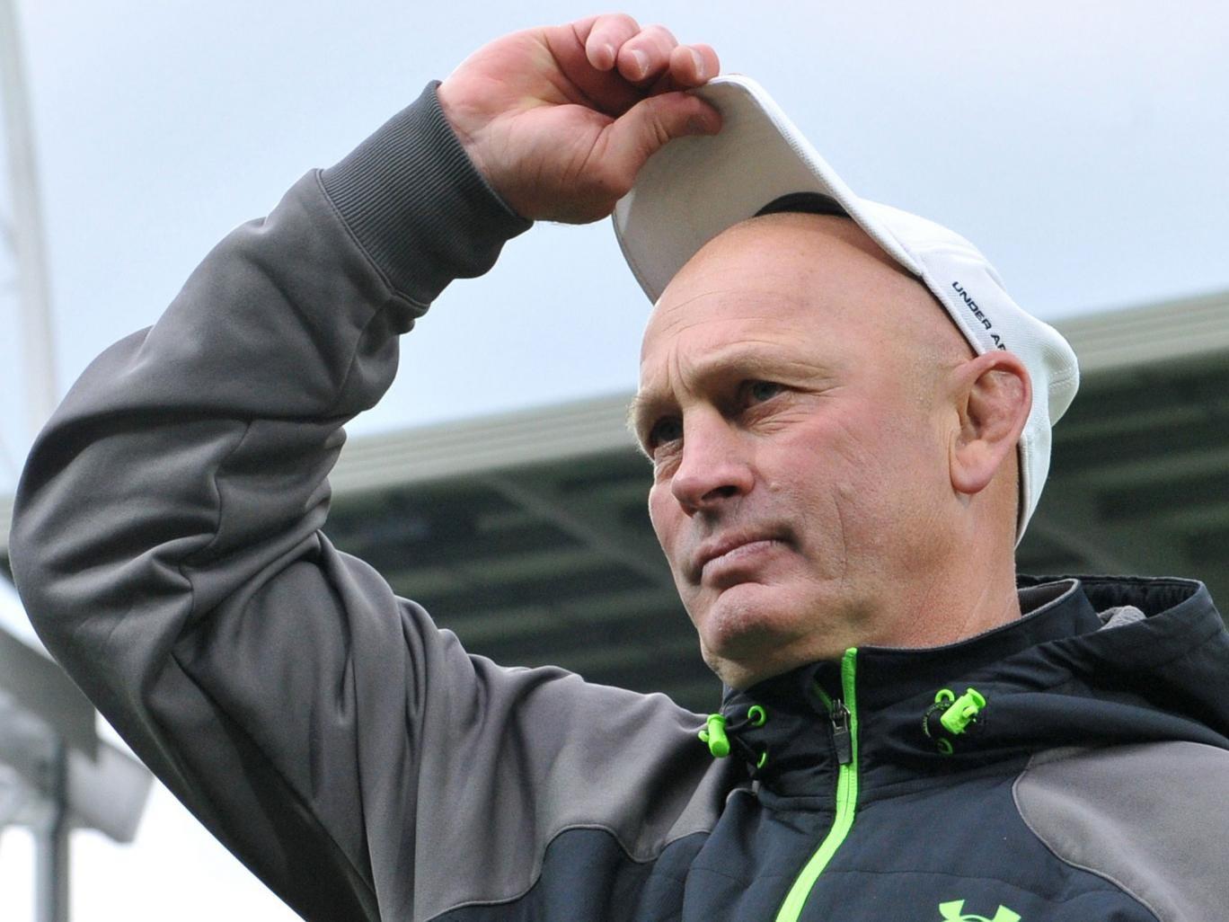 New Scotland coach Vern Cotter