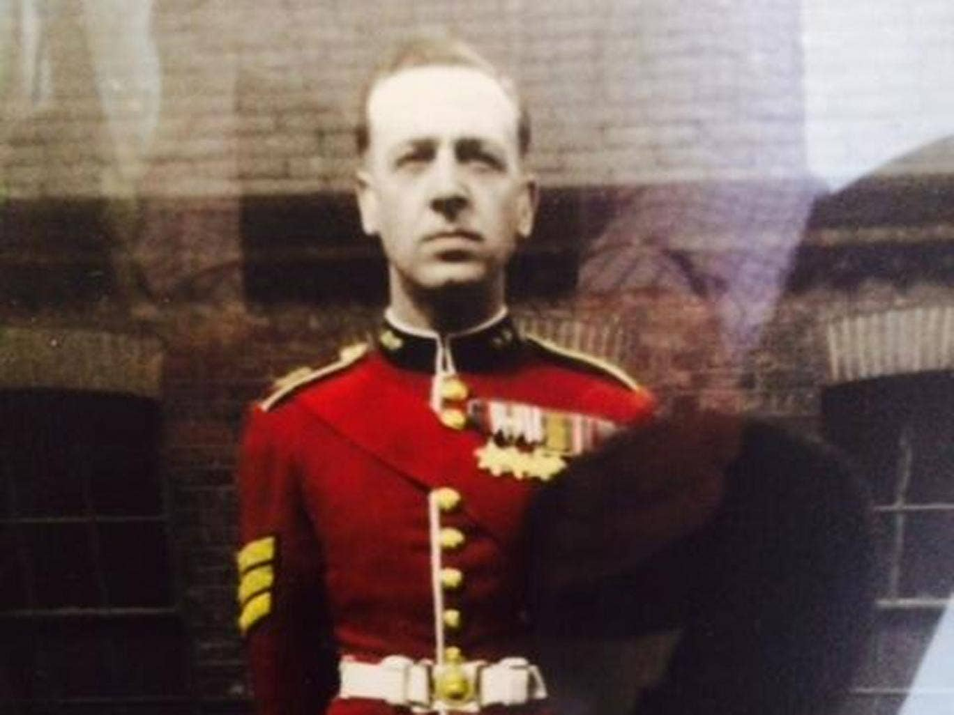 The 92-year-old veteran in a photo issued by MPS Barnet