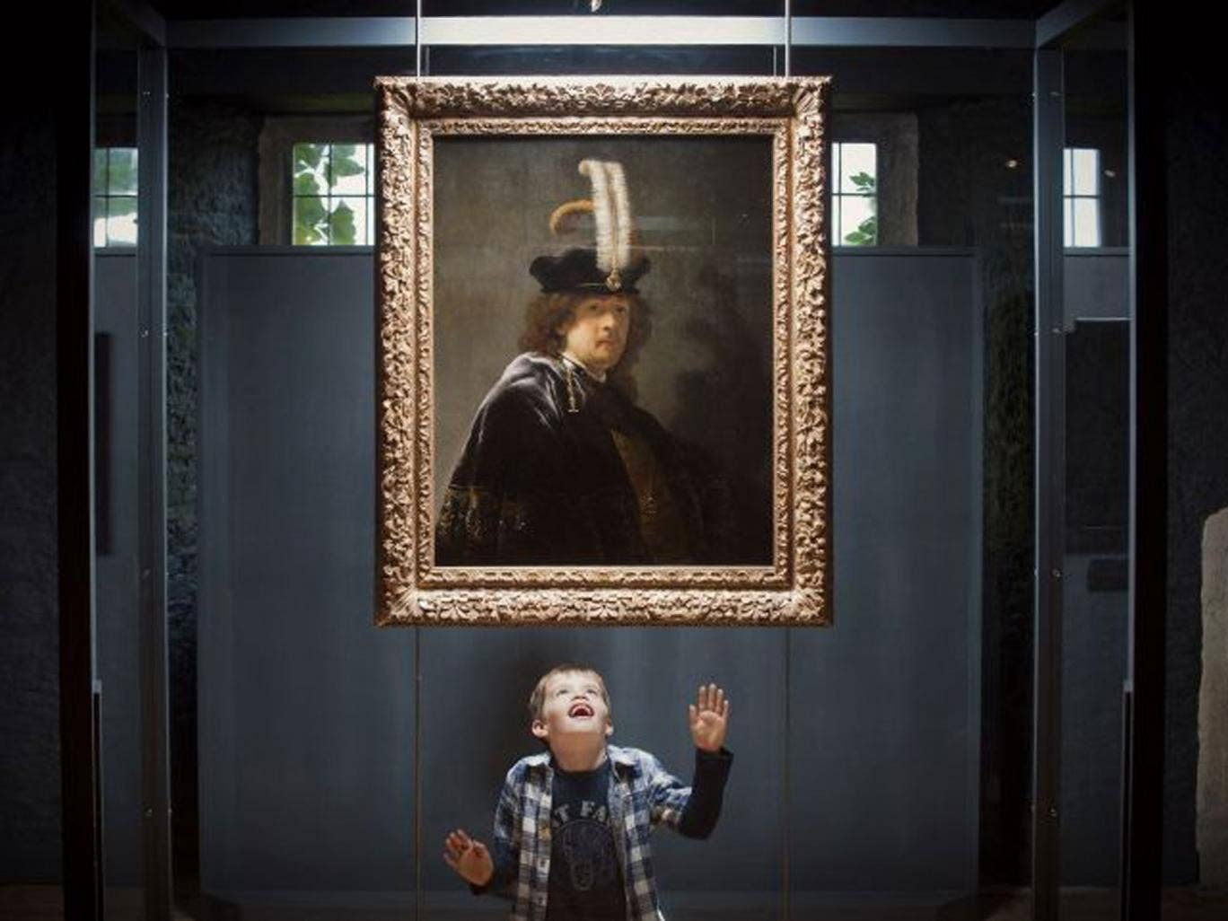 The painting was dismissed as original over 45 years earlier as not being accomplished enough to be a Rembrandt