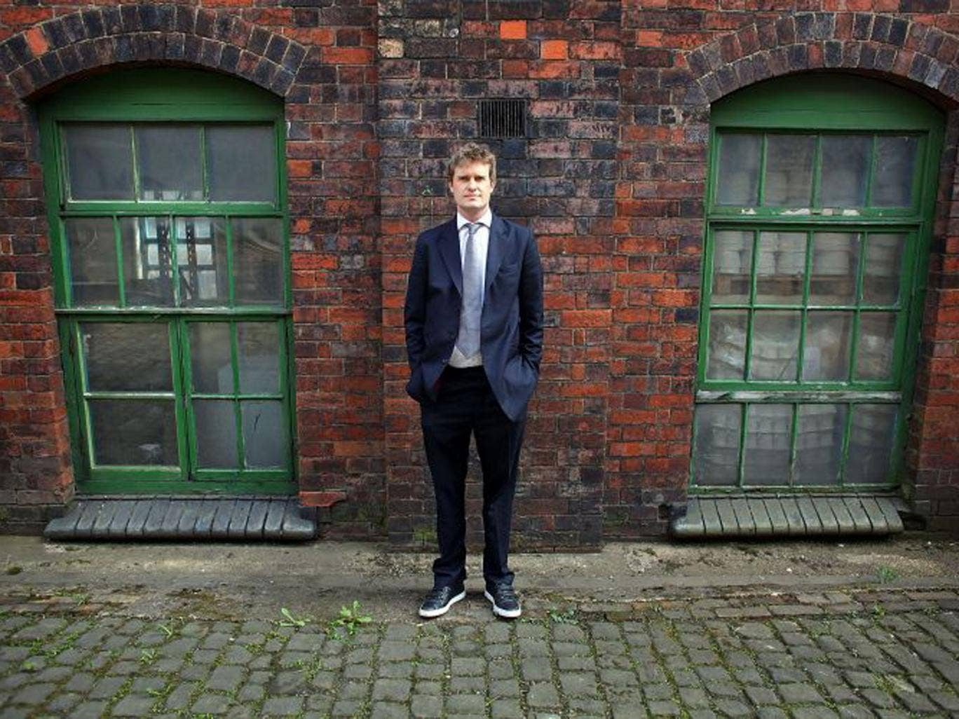 Past life: Tristram Hunt, the shadow Education Secretary, and author of 'Ten Cities that Made an Empire'