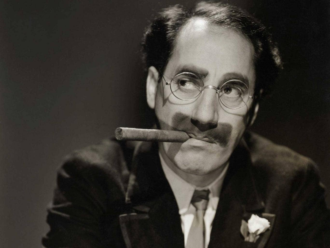 Up in smoke: Groucho Marx