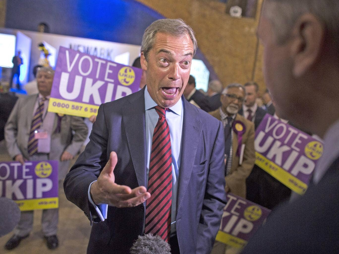 Nigel Farage's party is appealing to disillusioned Labour supporters