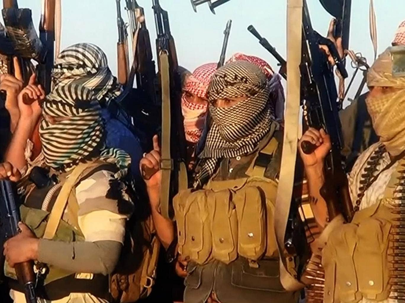 A propaganda video shows Isis forces near Tikrit