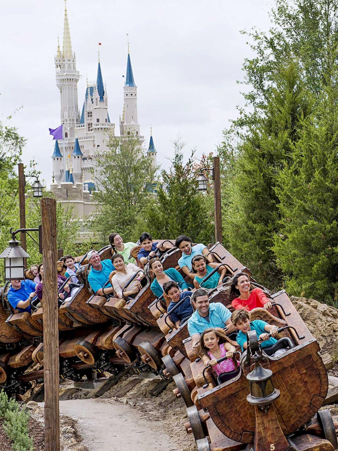 Orlando: Hi ho, off we go: the Seven Dwarfs Mine Train
