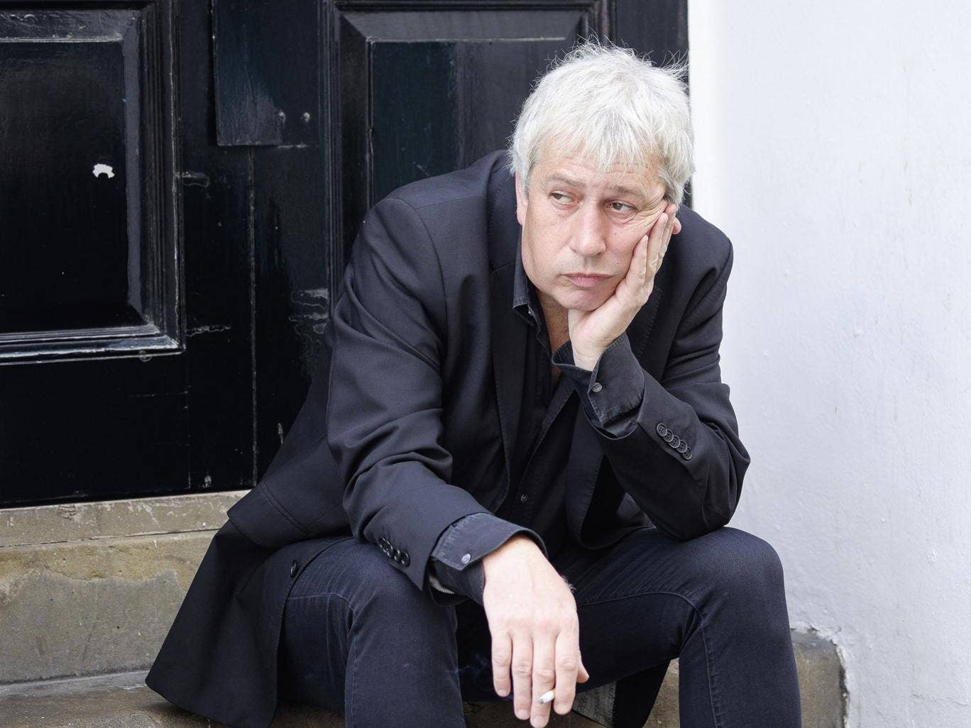 Grumpy old man: Rod Liddle at 54 - if he is miserable, he certainly wrings a lot of satifaction from talking about it