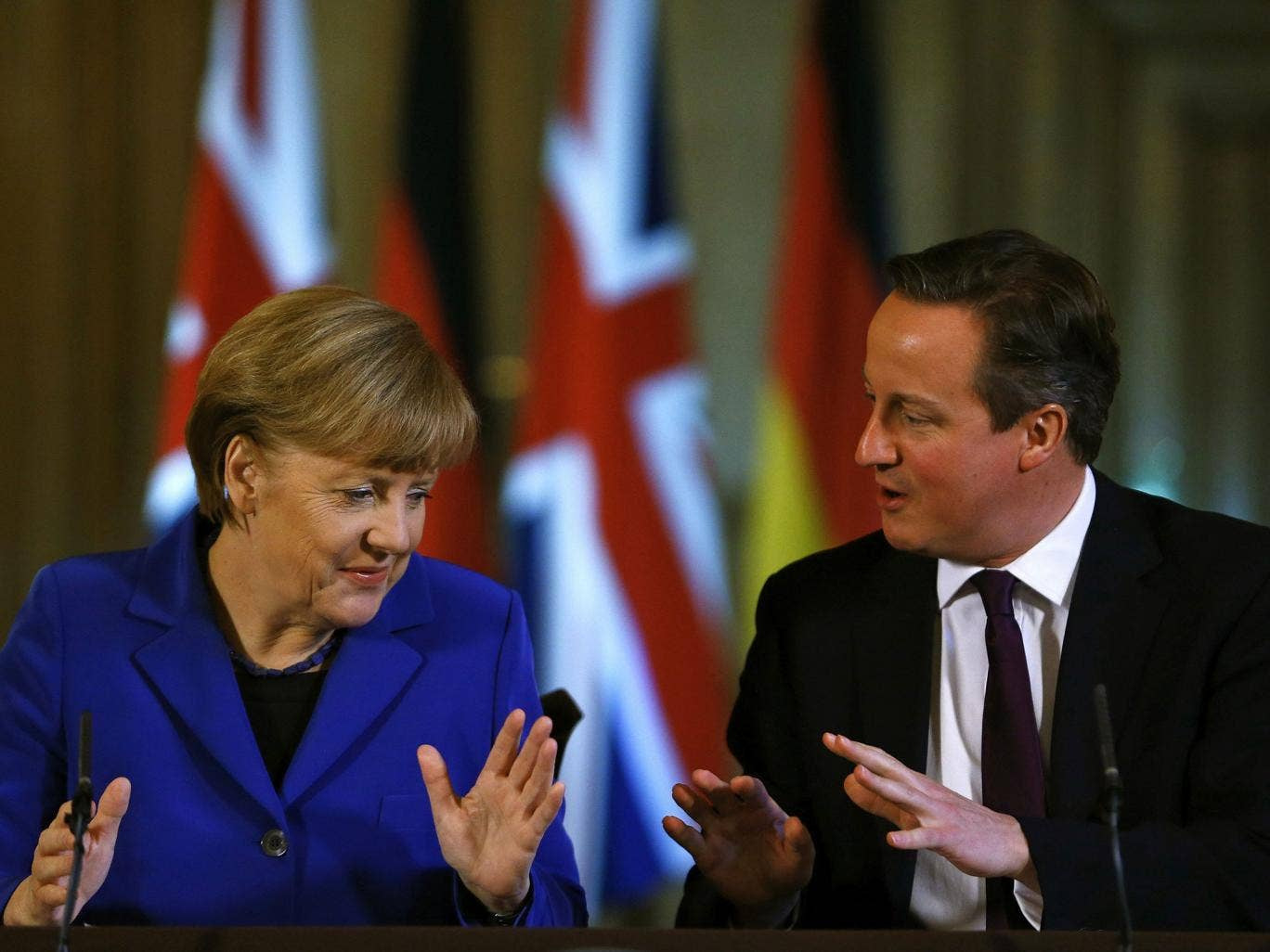 David Cameron has been attempting to gain Angela Merkel's tacit acceptance that a new candidate should to be found for the job