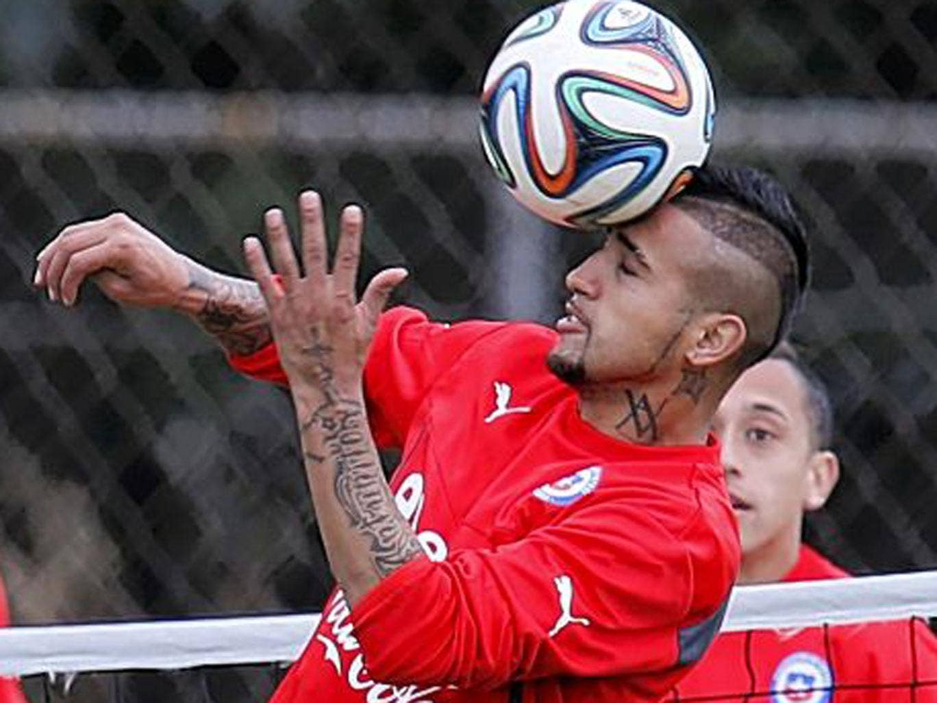 Arturo Vidal is fighting to be fit to face Australia tonight after a knee operation last month