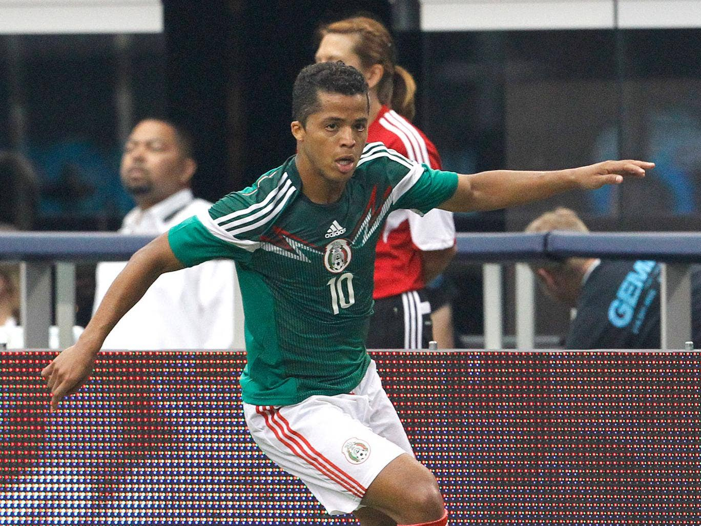 Giovanni Dos Santos is likely to start for Mexico against Cameroon