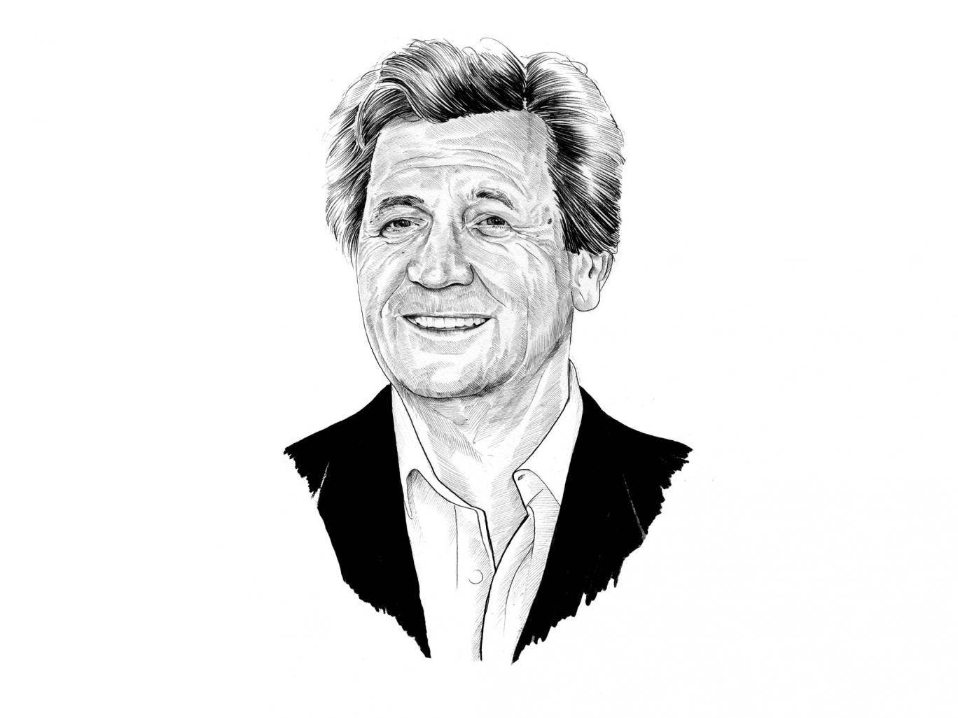 Melvin Bragg, a profilic novelist and broadcaster, best known for his work on 'The South Bank Show'