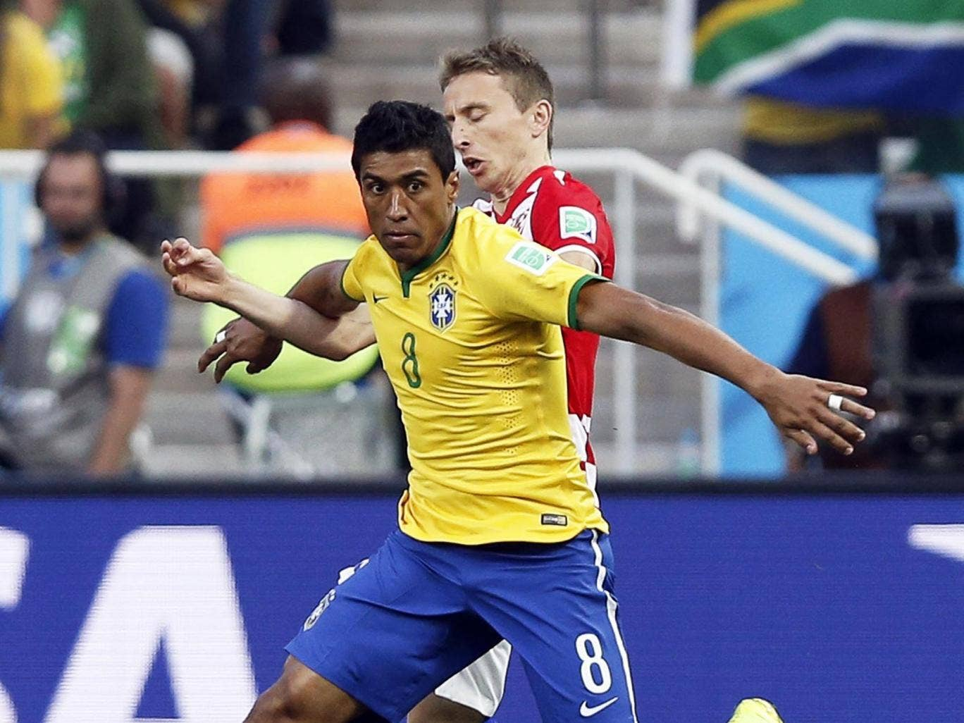 Paulinho can get box to box but he can't make a clever forward pass – as I found at Spurs