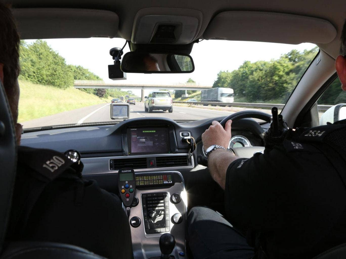 Thames Valley on patrol