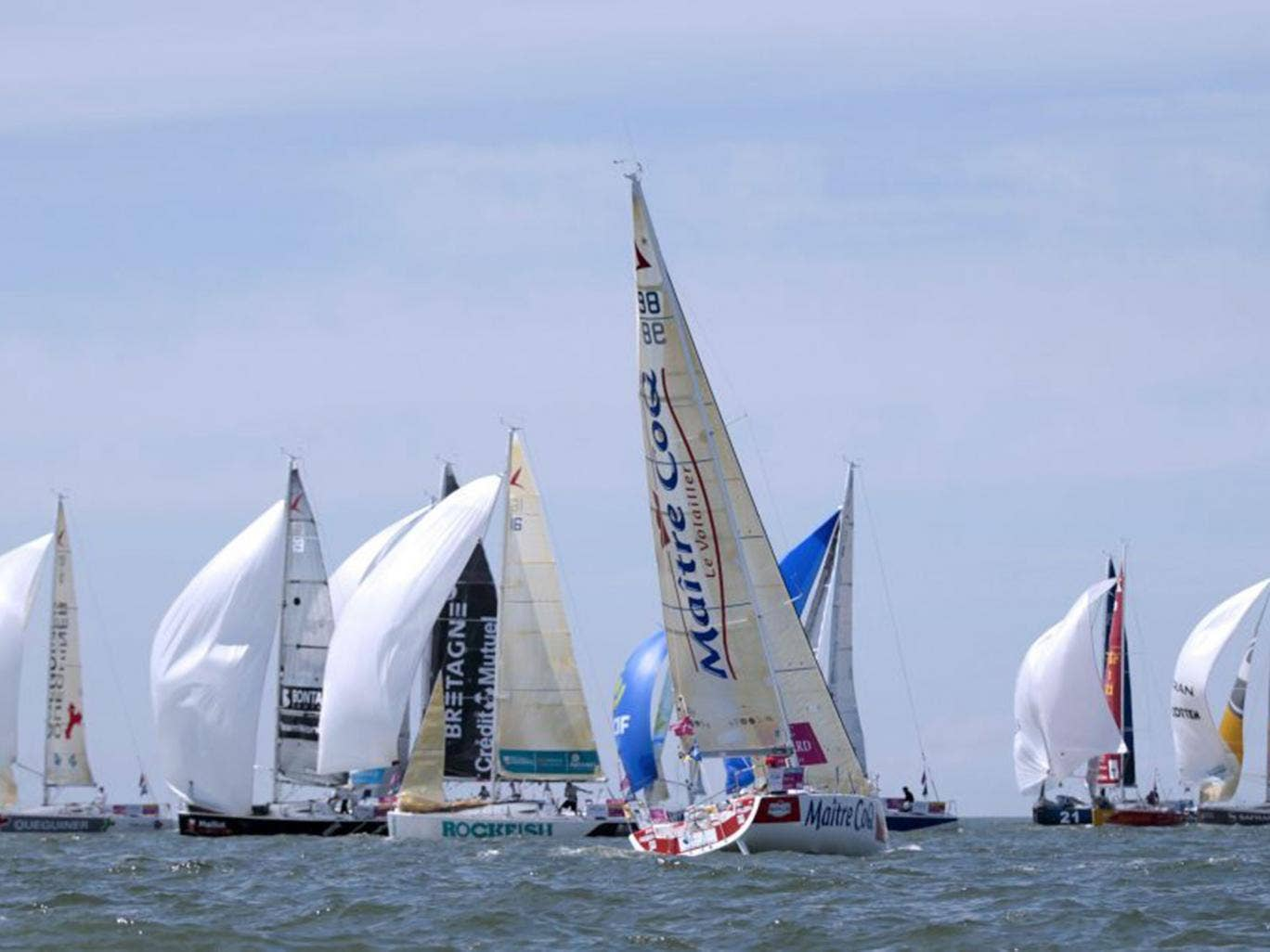 The Figaro solo race will  begin its second, 540-mile leg from Plymouth out to the Fastnet Rock off the south-west corner of Ireland