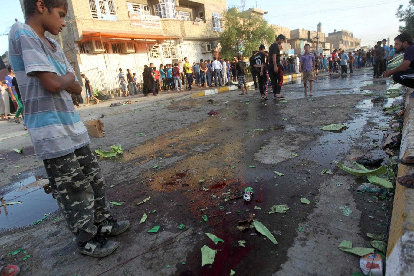 The bomb killed 12 and injure 29