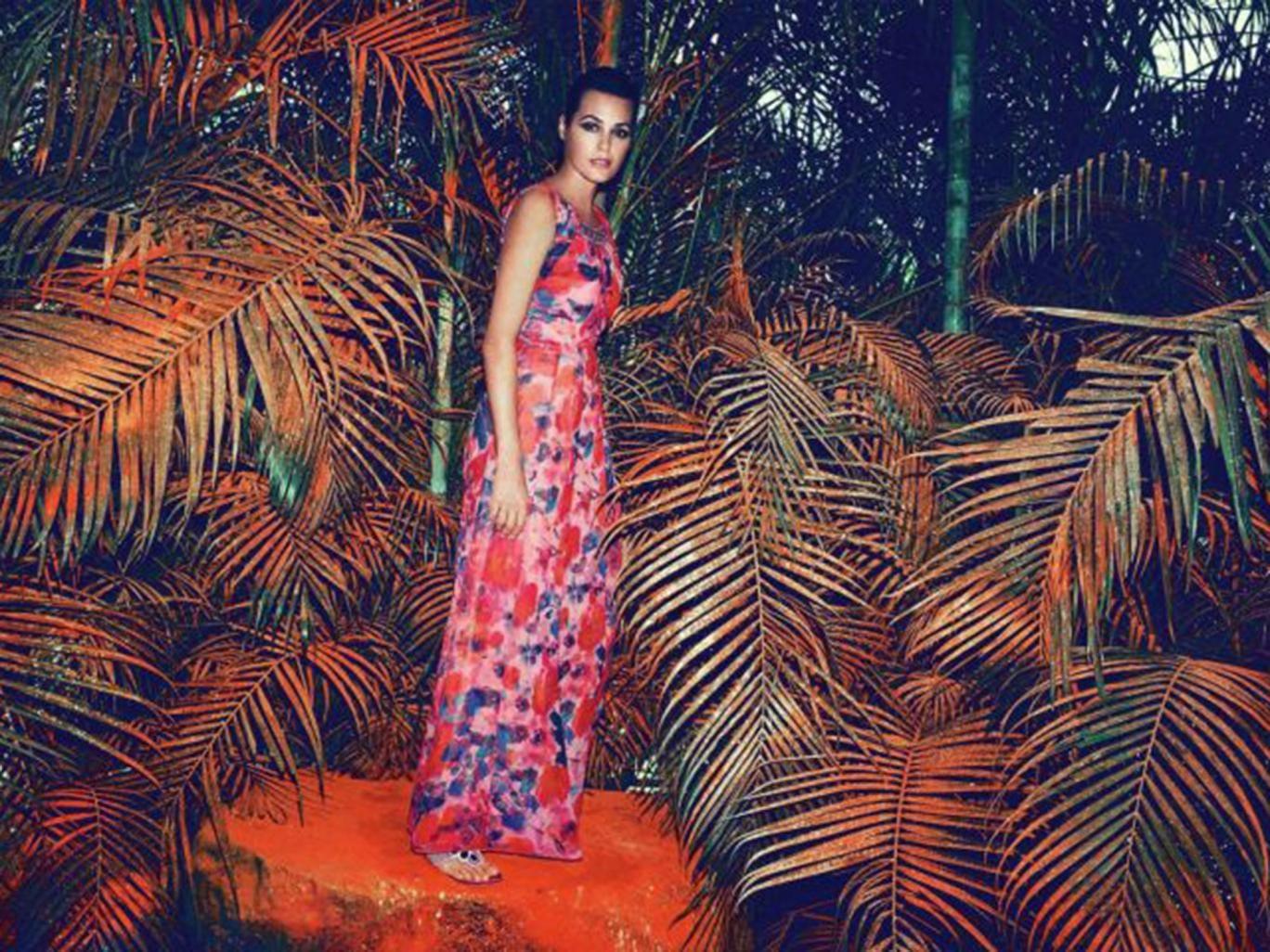 Model wears: dress £199, uk.monsoon.co.uk