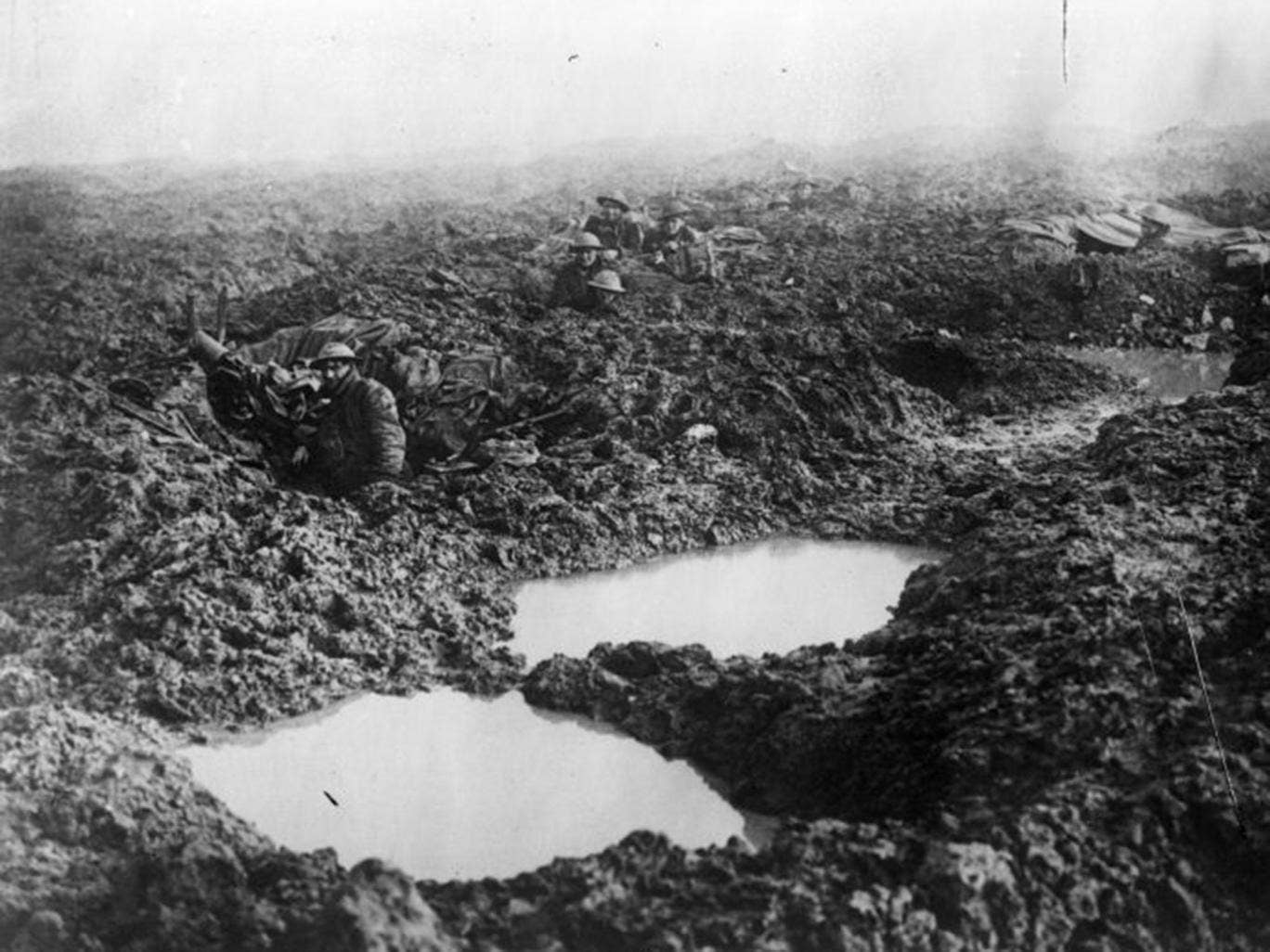 Wet weather plagued the Third Battle of Ypres, which included the battles of Langemarck and Passchendaele. Perhaps 70,000 Allied soldiers died between 31 July and 10 November