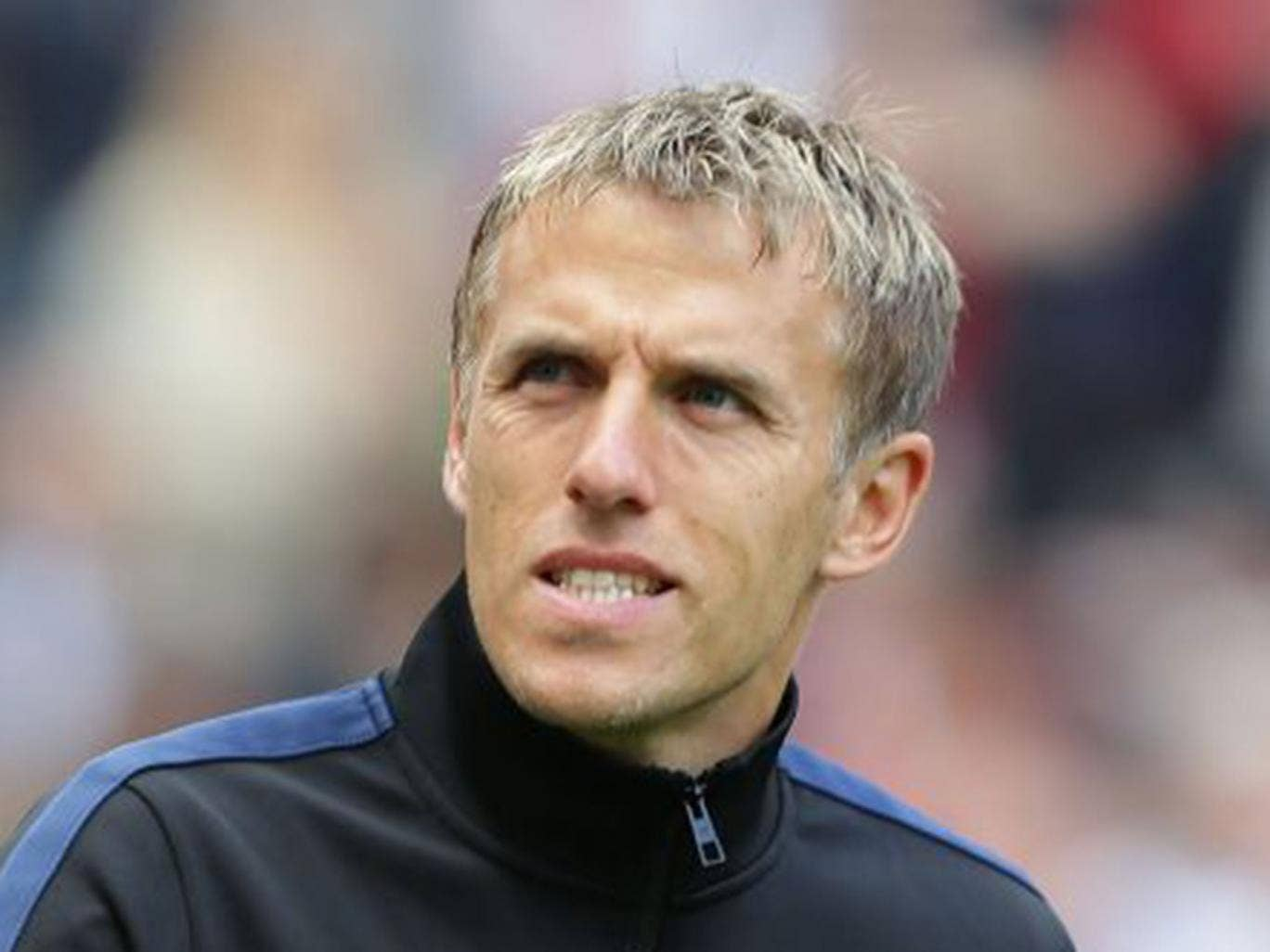 Phil Neville has been a regular on 'Match of the Day' since he retired last year