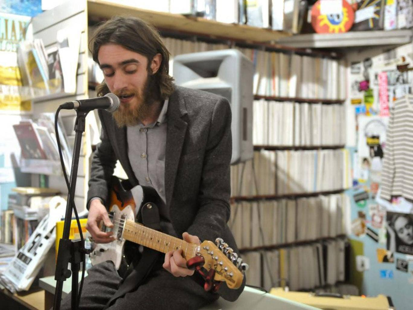 Keaton Henson has struggled to cope with crippling stage fright