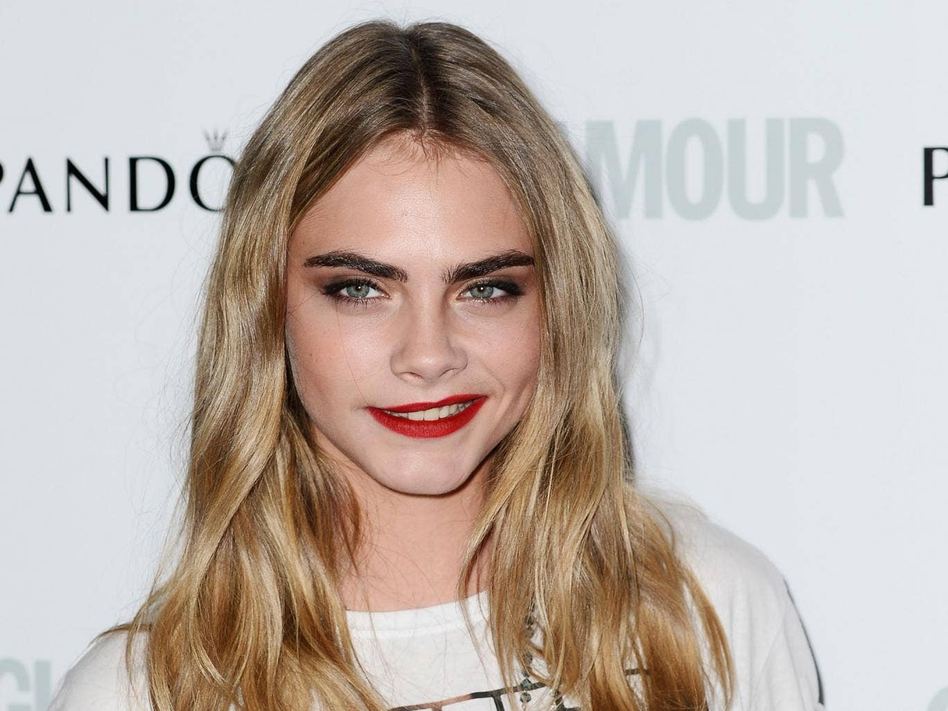Cara Delevingne, who makes her TV acting debut this week, said she only started modelling to pay for drama school