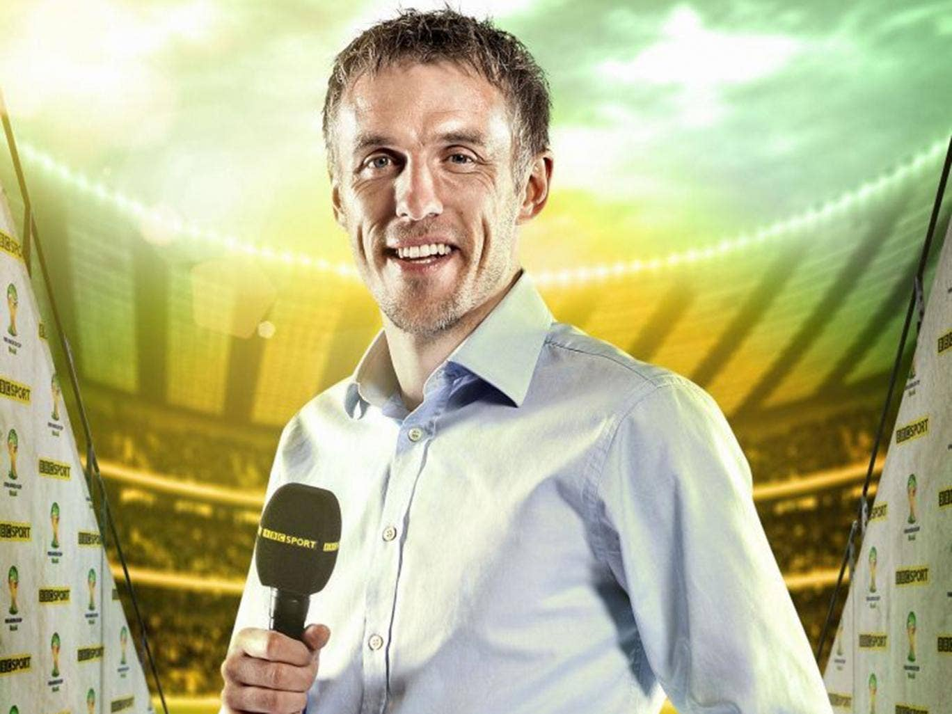BBC pundit Phil Neville
