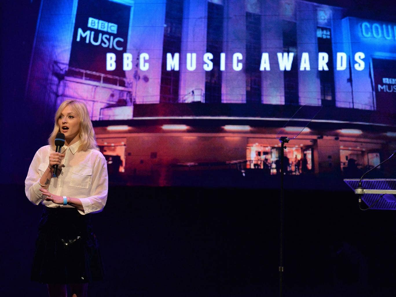 Fearne Cotton and Chris Evans will present the first ever BBC Music Awards at Earls Court in December