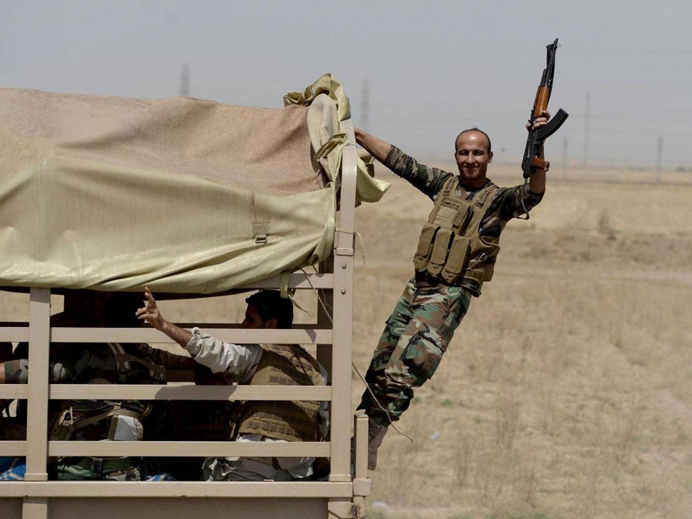 Kurdish Peshmerga forces took control of Kirkuk after it was abandoned by the Iraqi army