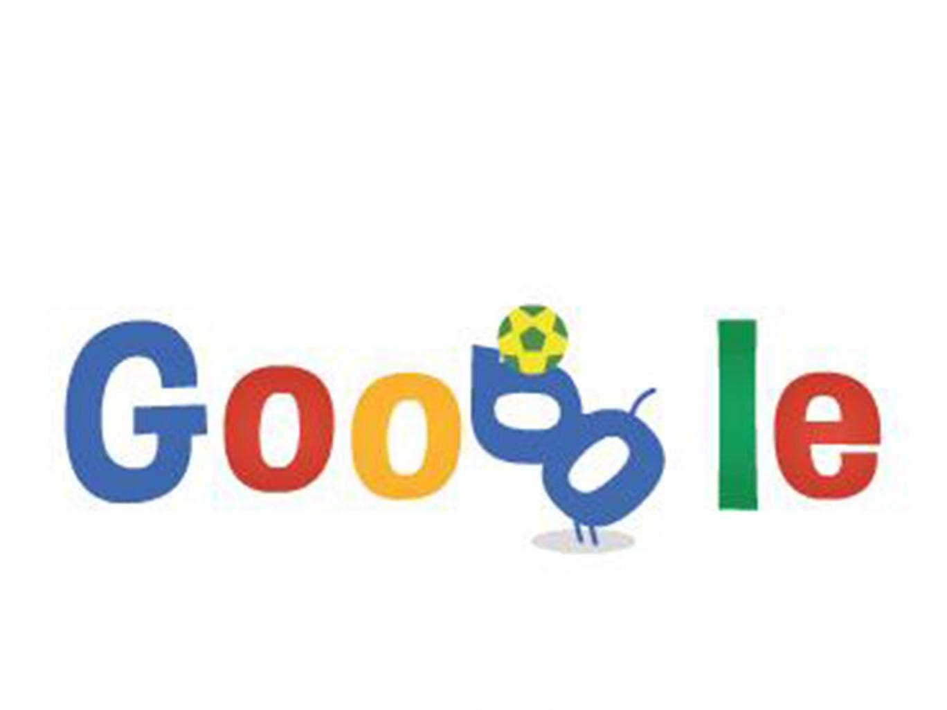 19 June 2014: Google celebrates the eighth day of the 2014 world cup with an animated doodle